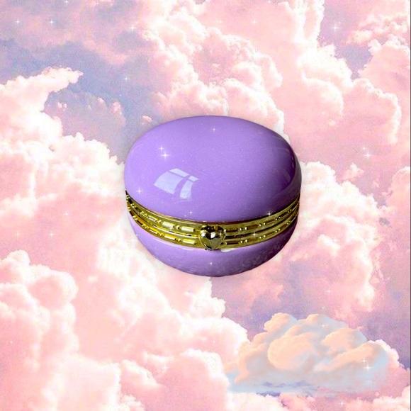✨Vintage Mini Purple Jewelry Box✨